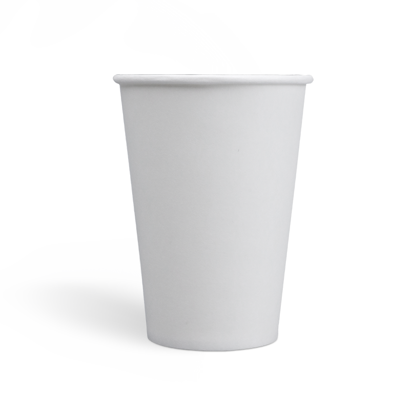 7.5oz Compostable PLA coating Single Wall Paper Cups