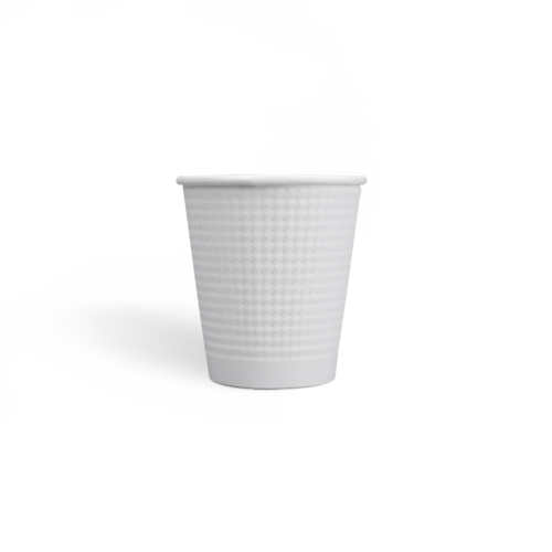 7oz Compostable PLA coating Dot Embossed Paper Cups