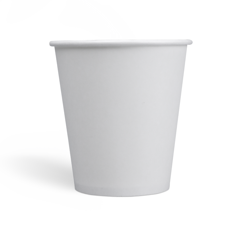 10oz Compostable PLA coating Single Wall Paper Cups