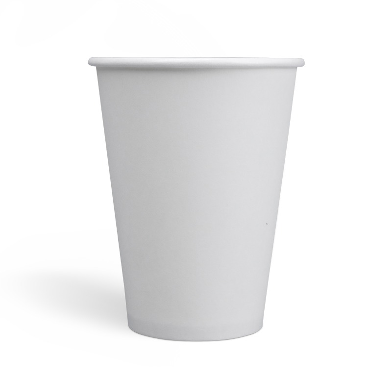 12oz Compostable PLA coating Single Wall Paper Cups